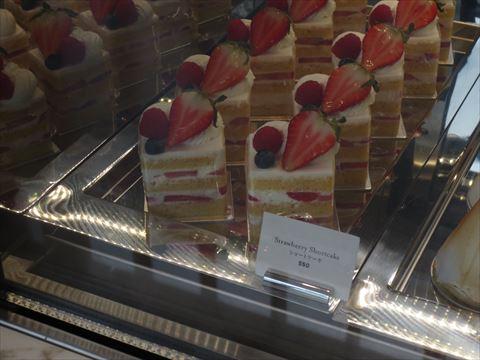 アンダーズ東京のケーキ