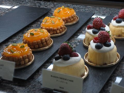 パークハイアット ケーキ